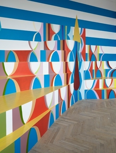 'Color State' exhibition by Malene Landgreen (DK) @ Dailytonic #interiors #painting #art #malene #landgreen