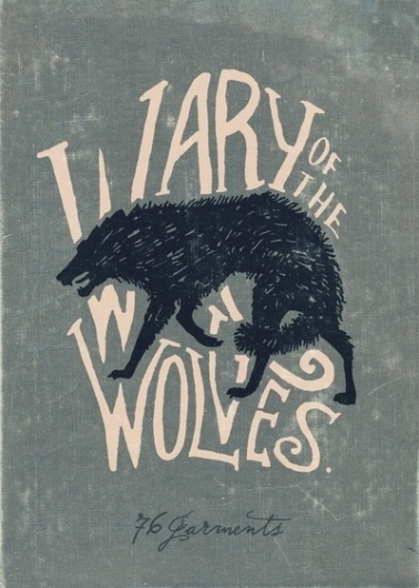 Wary of the Wolves Art Print by 76 Garments | Society6 #wolves #illustration #handwritten #vintage #poster #art #wolf #typography