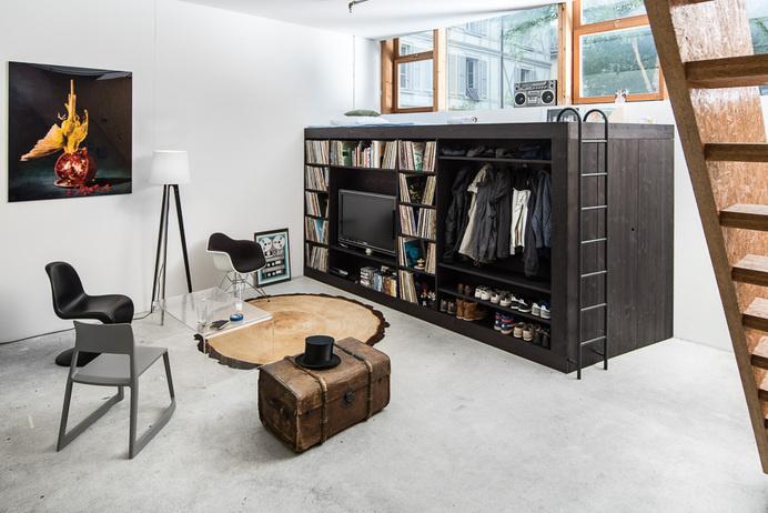 The Living Cube - Till Konneker illDesigns - www.homeworlddesign. com (1) #furniture