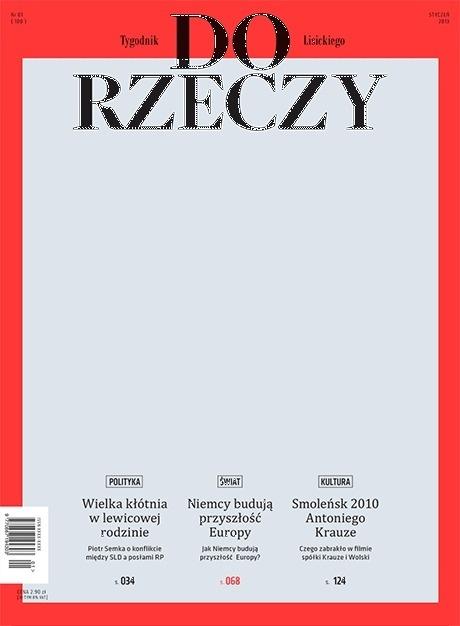 DO RZECZY #cover #graphic #magazine
