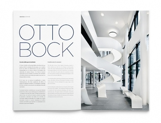 TIERRA magazine on the Behance Network #inspiration #minimal #layout #editorial #typography