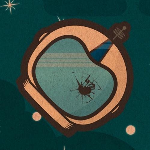 The Failed Astronaut « Joce GaMo Artwork #astronaut #helmet #star #space
