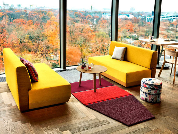 Patchwork Rug Collection by Werner Aisslinger aisslinger new face area rug #rugs #carpets #flooring