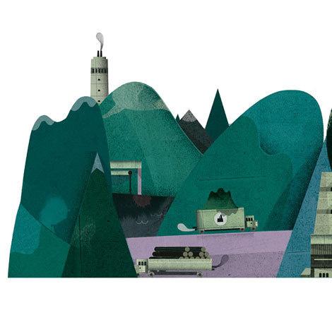 grain edit · Lotta Nieminen Illustration #illustration