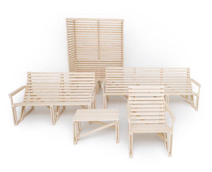 Patioset: Simple Outdoor Furniture with Modern Comfort - Design Milk