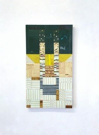 richardpearse2011_cowshed2 #wood #panel #art