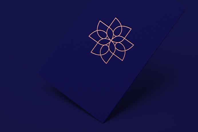 Belleza y Salud #brand #beauty #health #packaging #simbol #flower #logo #beautysalon