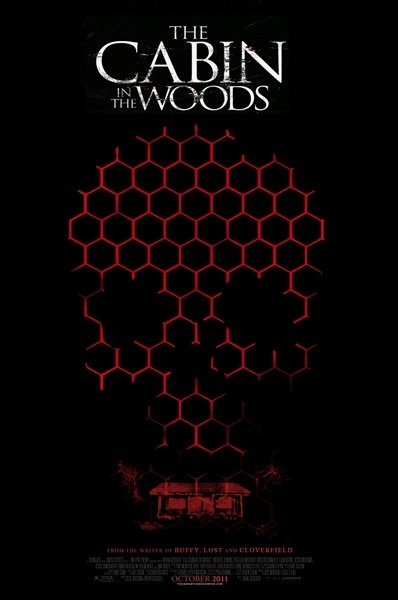 The Cabin in the Woods | Concept Poster by Ash Beech #movie #in #woods #horror #the #poster #film #cabin