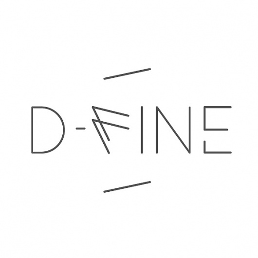 Logo D-Fine on the Behance Network #logo #identity #fine