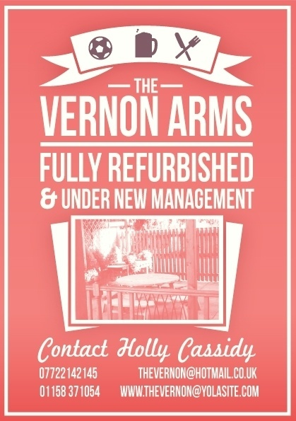 The Vernon Arms on the Behance Network #flyer #pub #poster #typography