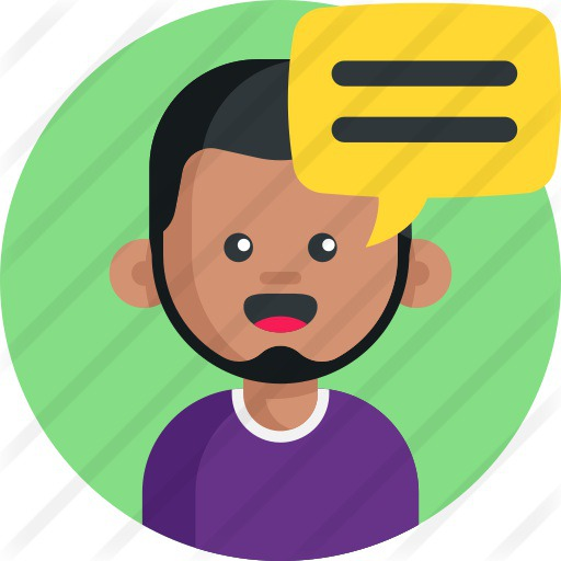 See more icon inspiration related to avatar, costumer, client, conversation, communications, user, speech bubble, talking and man on Flaticon.