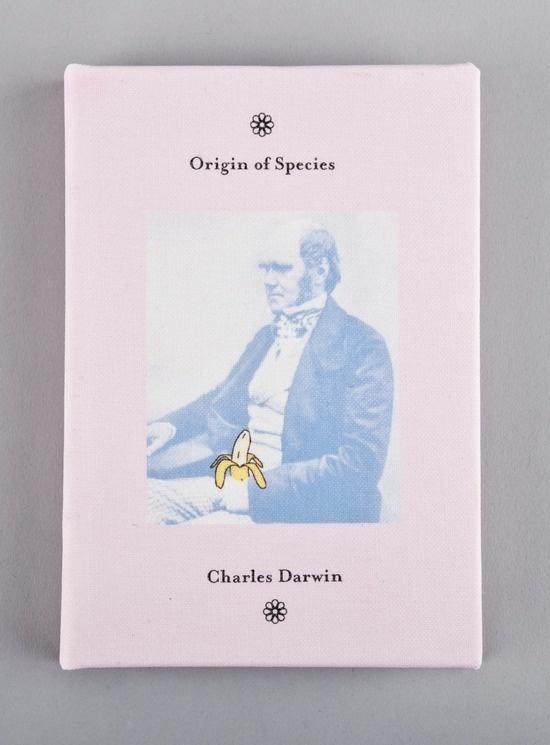 Tom J Hume / Graphic Communicator / +4474533410157 #banana #darwin #hume #book #monkey #cover