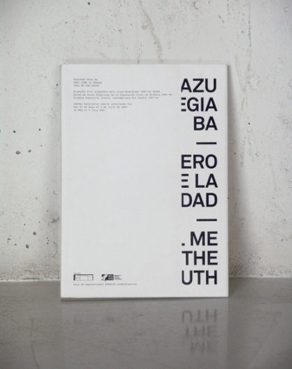 Folch Studio - Tell me the truth #white #design #black #poster #and #typography