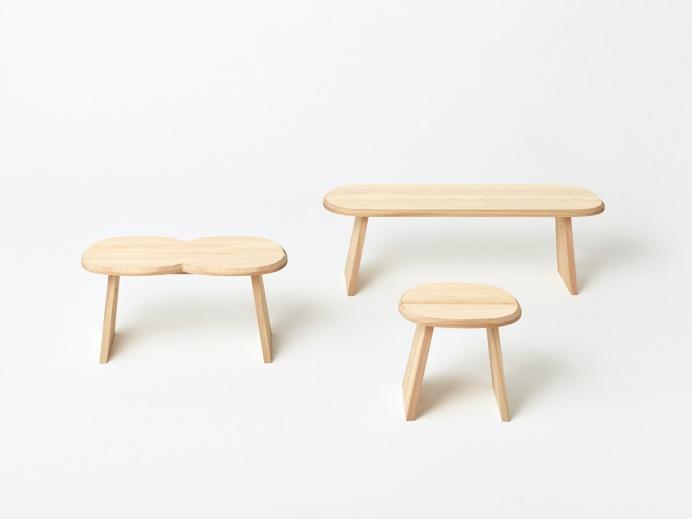 Stool Series by Jasper Morrison x Wataru Kumano
