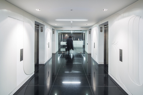 Gensler London Office on Behance #graphics #wall