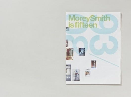 Fifteen newspaper | Cartlidge Levene #print #design #typography