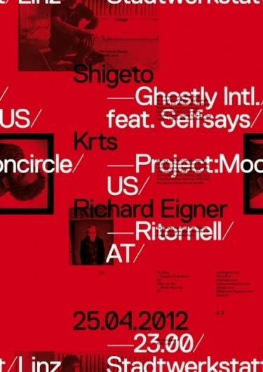 Wolfgang Ortner #content #pattern #replica #shigeto #future #sound #poster #exposed