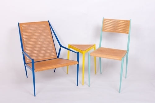 Acciaio Series by Max Lipsey | Design Milk #chair #furniture #table