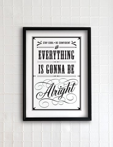 http://pinterest.com/pin/34199278390055919/ #alright #poster