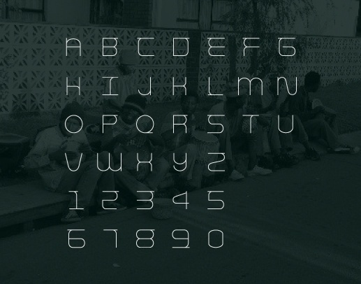 THE #font #weme #m #typography