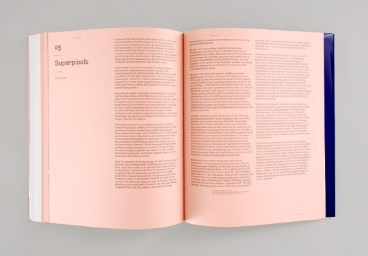 Spin — Supergraphics #layout #book #typography