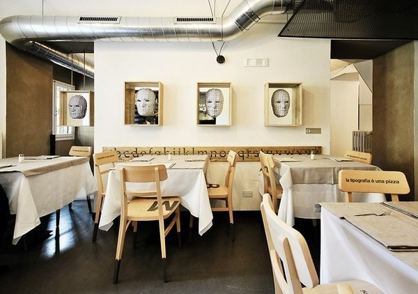 Best Art Pizzeria Decor Architecture Alla images on Designspiration