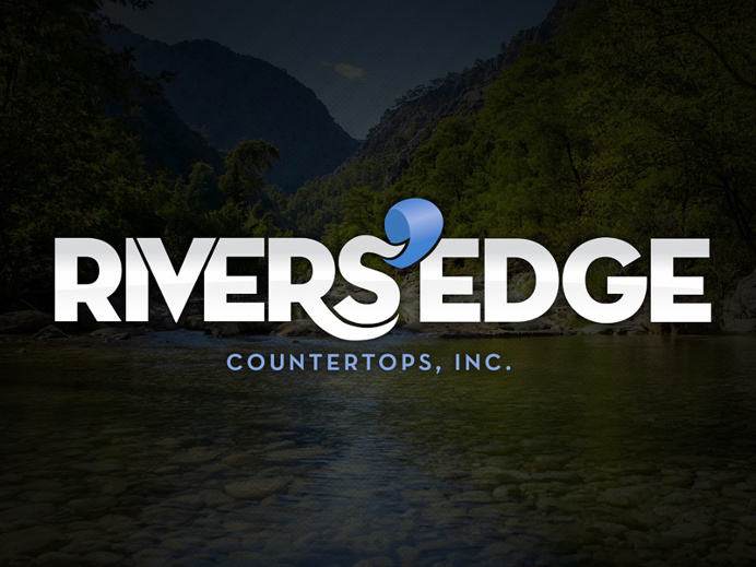 Rivers' Edge Countertops Logo