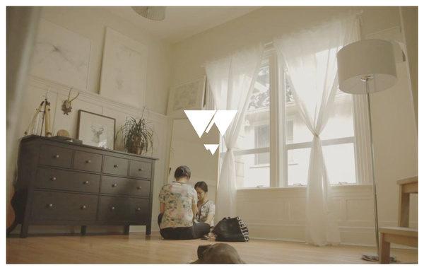 Hera Films—Vancouver wedding videographer photograph #mountain #branding #design #graphic #triangle #logo #wedding #typography