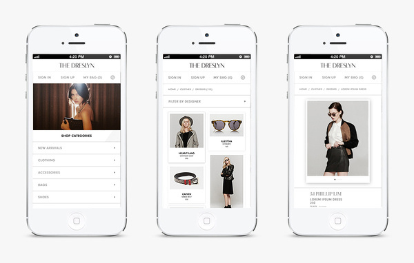 The Dreslyn by Hugo & Marie #design #web #mobile
