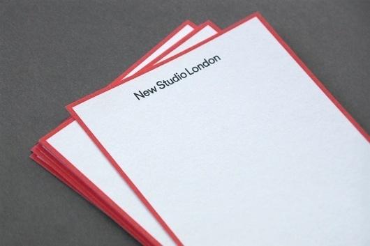 Patrick Fry / New Studio London #branding #print #identity #stationery #logo
