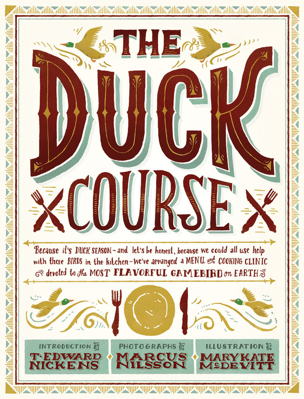 Mary Kate McDevitt #illustration #lettering #hand #duck