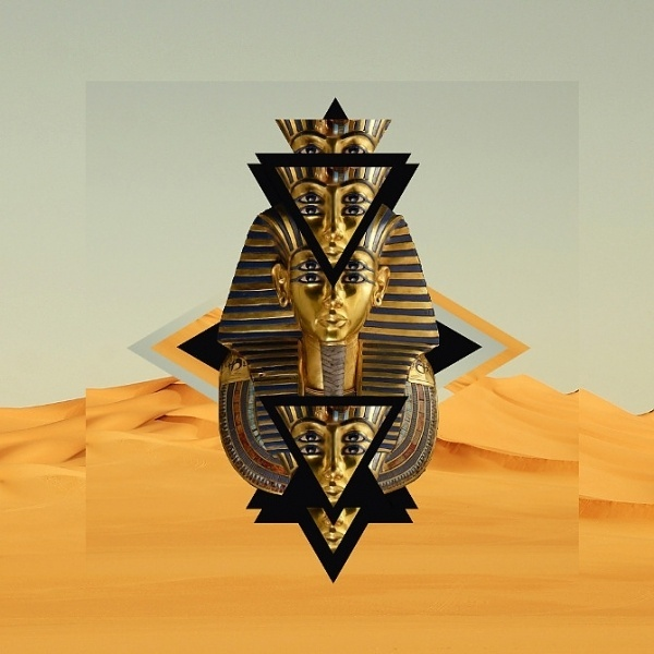 King Tut - Benny Moore #album #design #record #artwork #vinyl #tut #music #collage #king