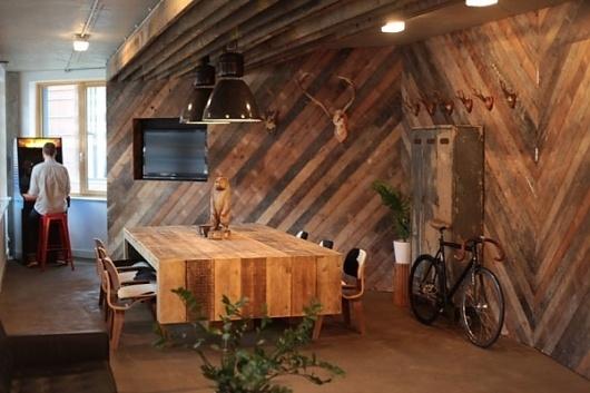 I Love Dust #interior #wood #design