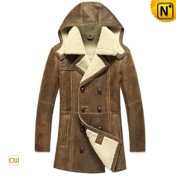 Shearling Sheepskin Coat CW878159 #sheepskin #coat