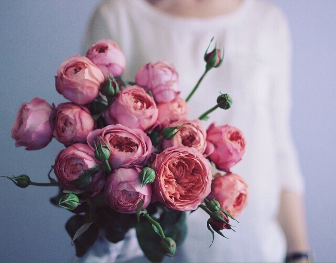 (2) Likes | Tumblr #roses #bouquet