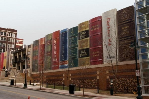 Kansas City Public Library (Missouri, United States) #building #house #interesting #book