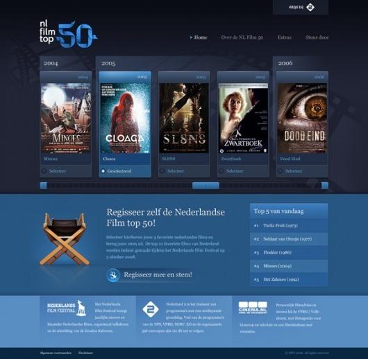 Dutch Film top 50 on Web Design Served #50 #top #design #served #film #dutch #web