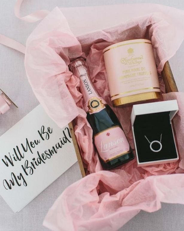 We're Obsessing Over These Bridesmaid Proposal Boxes