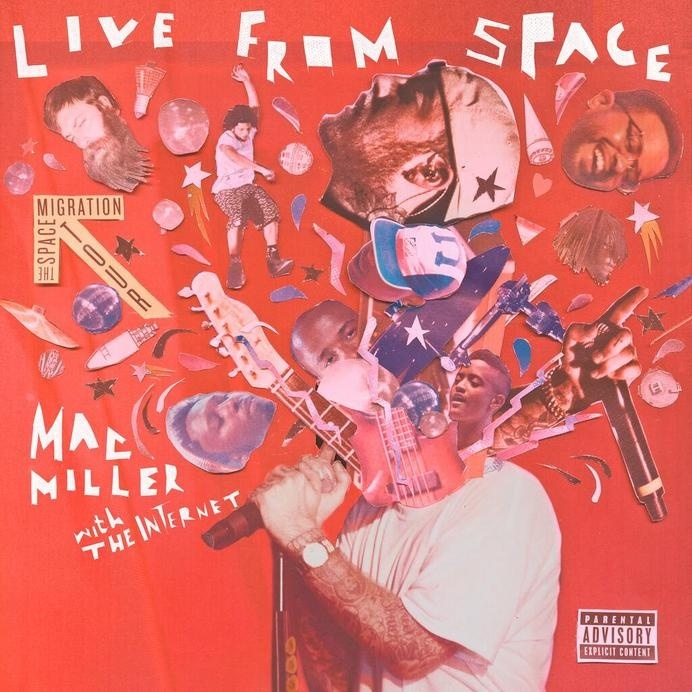 mac miller live from space album #live #miller #album #from #tha #space #the #cover #internet #kyd #hop #collage #hip #syd #mac