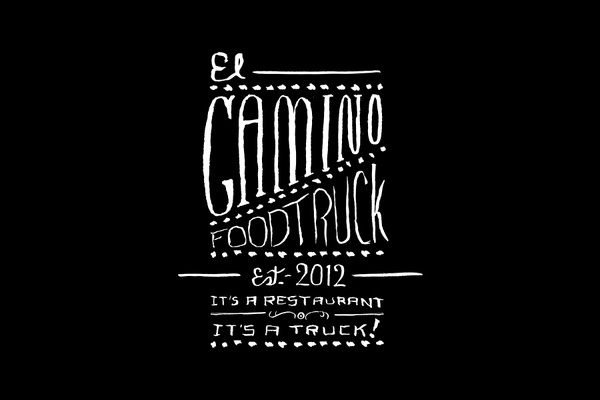 SAVVY STUDIO | El Camino Foodtruck #truck #design #food #typography