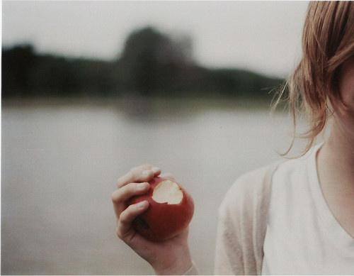 Apple #apple #hand #girl
