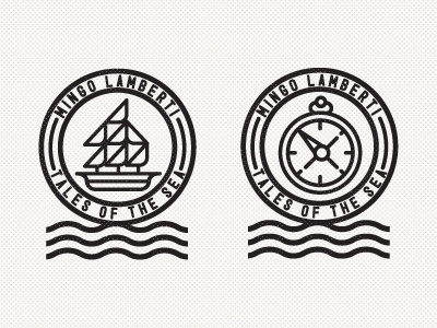 Dribbble - Mingo Lamberti by R A D I O #icon #logo #illustration #sea