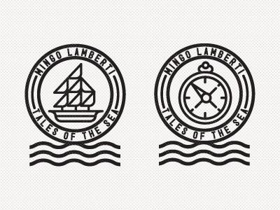 Dribbble - Mingo Lamberti by R A D I O #icon #logo #illustration #sea