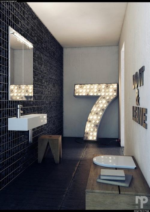 justthedesign:nnBathroom Design By Marcin Pajakn #spaces #room