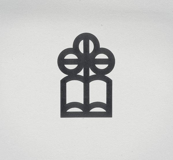 Flower Book #mark #line #weight #mono #logo
