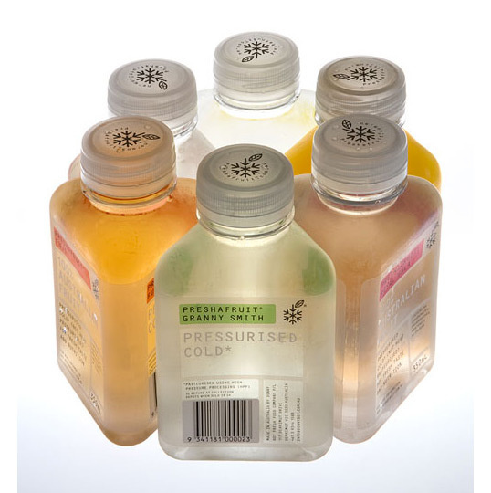Preshafruit Juices #packaging