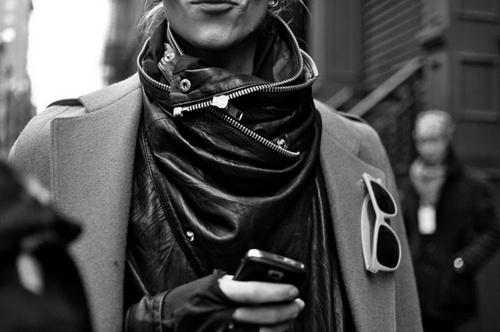 Mylo Xyloto #scarf #alternative #jacket #leather