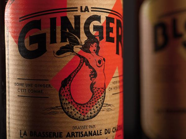 lovely package la brasserie du chateau 2 #design #graphic #package #bottle