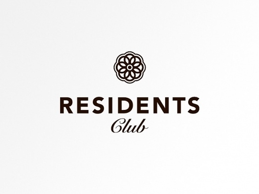 Ramon Marin - Residents Club #logo #branding