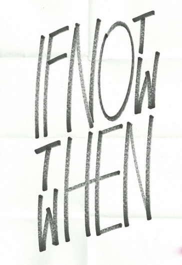 tumblr_lkuww6a6bN1qccknko1_400.jpg (396×576) #font #then #not #if #written #now #when #hand #typography